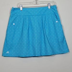 Adidas Clima Cool Solarblue White Golf Skort